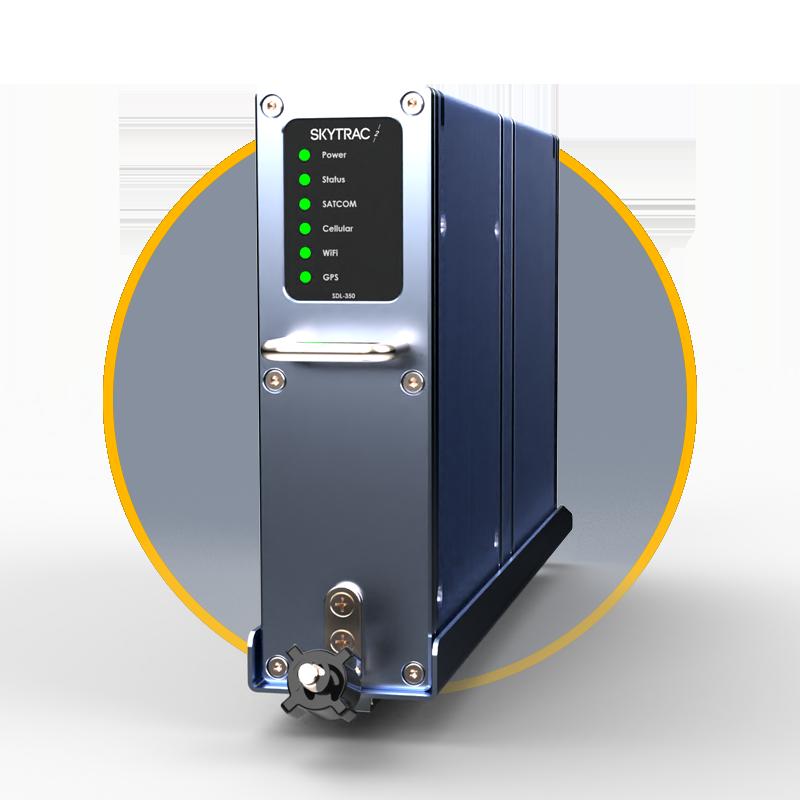 SKYTRAC SDl-350 broadband aircraft satellite communication (satcom) system